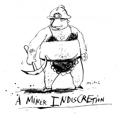 A Miner Indiscretion