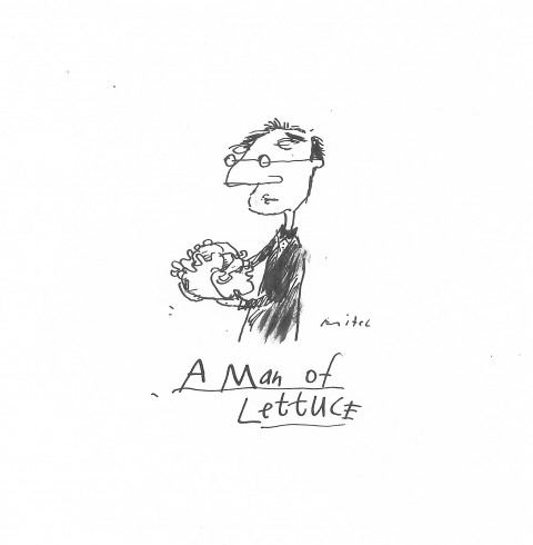 A Man of Lettuce
