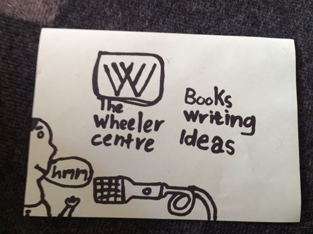 And the Wheeler Centre got a fab new idea for their new logo !!!